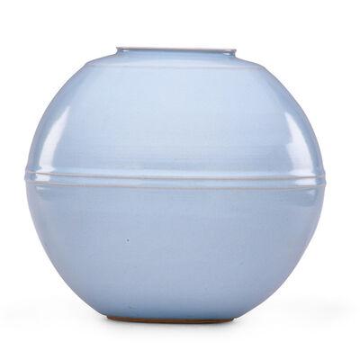 "Nakashima Hiroshi, 'Fine large ""ten seiji"" (sky blue) celadon vase, Japan', 2010s"
