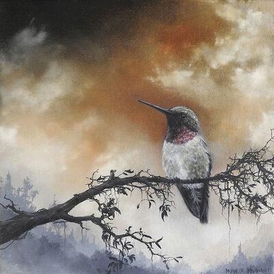 Brian Mashburn, 'Ruby-throated Hummingbird', 2017