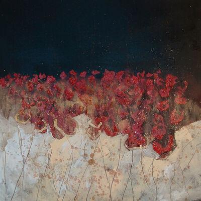 Simafra, 'Papaveri di notte', 2016