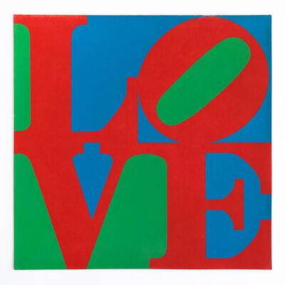 Robert Indiana, 'LOVE – MoMA Christmas Card', 1965