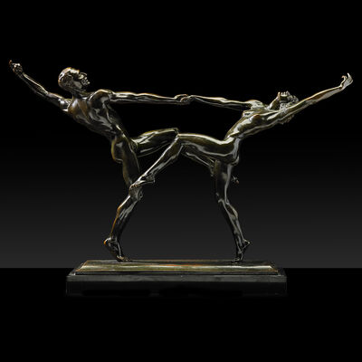 Harriet Whitney Frishmuth, 'The Dancers', 1921