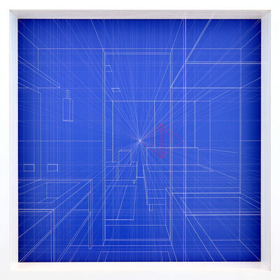 Paolo Cavinato, 'Libration Ultramarine', 2017
