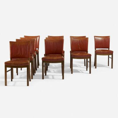 Fritz Hansen, 'Dining chairs, set of ten', c. 1945