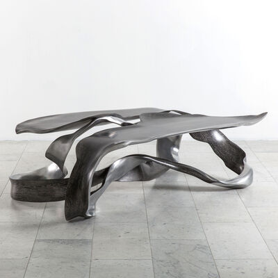 "Marc Fish, 'Marc Fish, Aluminum ""One Piece"" Low Table, UK, 2017', 2017"