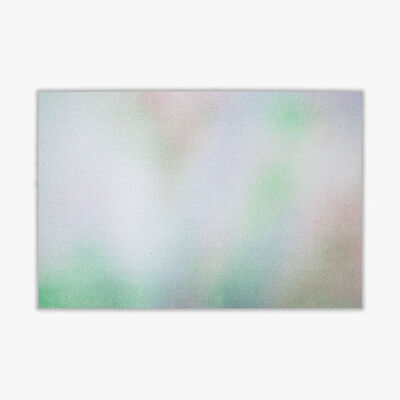"Isabelle Cornaro, 'Reproductions ""Choses #1"" (Green)', 2020"
