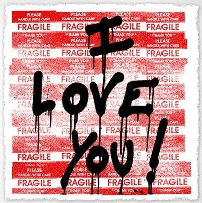 Mr.Brainwash, 'I Love You!', 2011