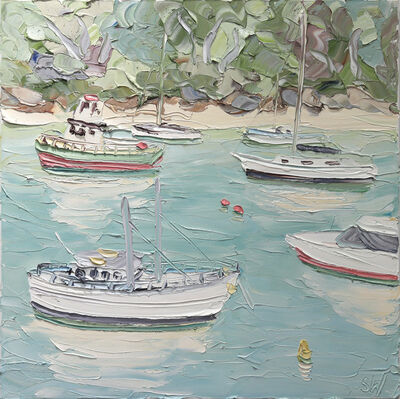 Sally West, 'Berry's Bay (22.6.17)', 2017