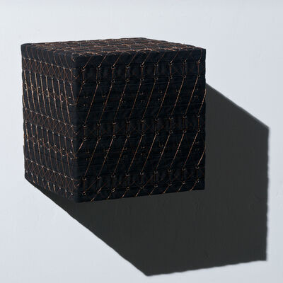 Denise Yaghmourian, 'Black Cube w/ Copper #2', 2008