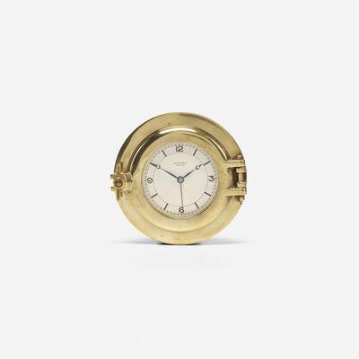 Hermès, 'Rare Porthole table clock', c. 1955