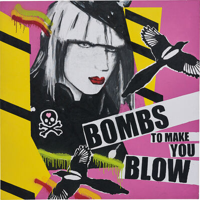 Stuart Semple, 'Bombs To Make You Blow', 2005
