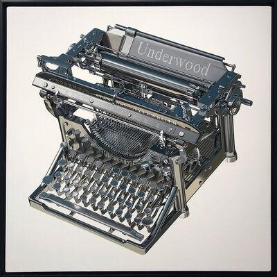Jeff Bartels, 'Steel Underwood Typewriter', 2021