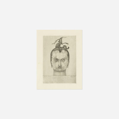 Paul Klee, 'Menacing Head from the Inventions series', 1905
