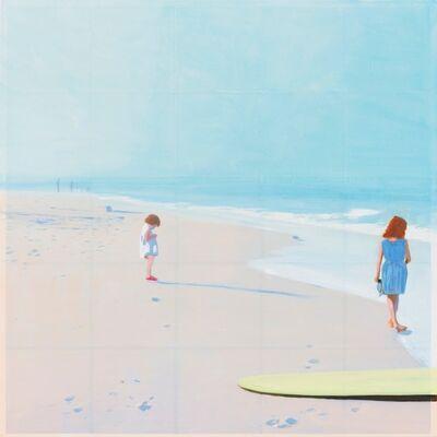 Isca Greenfield-Sanders, 'Yellow Surfboard', 2015