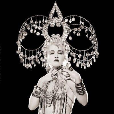 Matthew Rolston, 'Cyndi Lauper, Headdress, Los Angeles, 1986', 1986