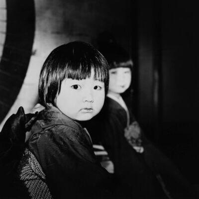 Toshio Enomoto, '092-Kamuro in the Kasa-no-ma room of Wachigai-ya', 1983