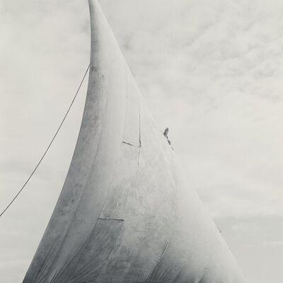 Lynn Davis, 'Dhow Sail, Lamu, Kenya', 1994