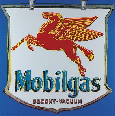 Andy Warhol, 'MOBILGAS II.350', 1985