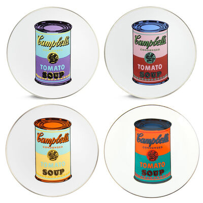Andy Warhol, 'Campbell's Soup Can Plate Set', ca. 2017