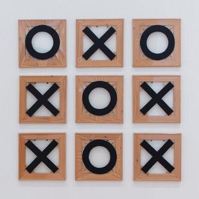 Martin Kippenberger, 'Tic-Tac-Toe, Tae-Kwon-Doe', 1989