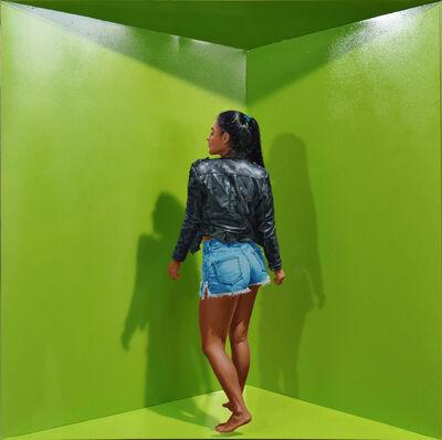 John Geoffrey Sánchez, 'Barequera 3', 2020