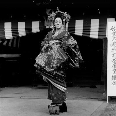 Toshio Enomoto, '083-Hanasougi Dayu in the morning of the new year ceremony', 1983