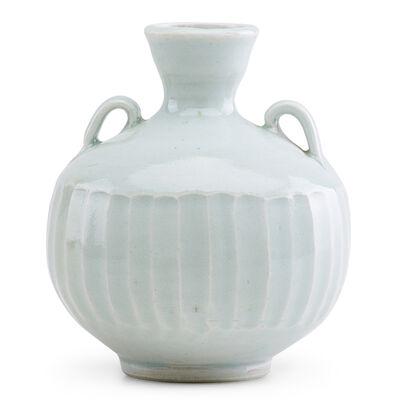 Bernard Leach, 'Carved porcelain urn with fine celadon glaze, St. Ives, England'