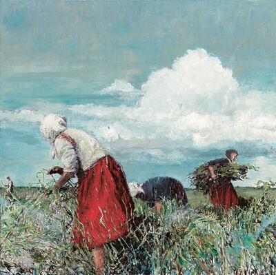Sabine Moritz, 'Der Rote Rock (The Red Skirt)', 2015