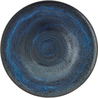 Gertrud Natzler, 'Fine flaring low bowl, Midnight Sky Deep Blue Crystalline glaze, Los Angeles, CA', 1963