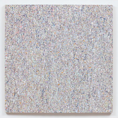 """Jonathan Horowitz, 'Leftover Paint Abstraction #2 (55"""" x 55"""")', 2017"""