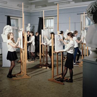 Valery Katsuba, 'Drawing Class', 2014