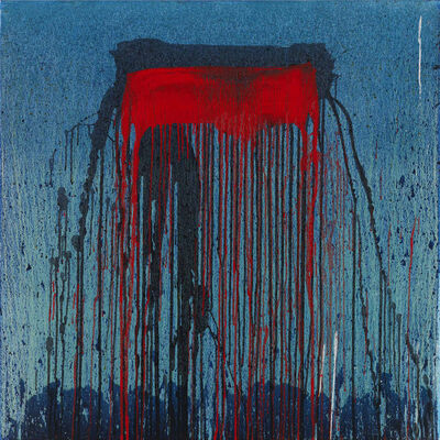 Pat Steir, 'Blue', 2007