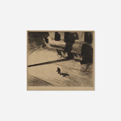 Edward Hopper, 'Night Shadows', 1921