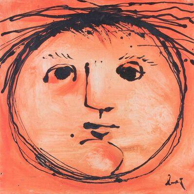Enrico Baj, 'Testa solare', 1953