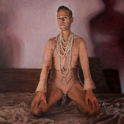 Tanya Atanasova, 'Boudoir: Portrait of Alessandro Tomassetti', 2020