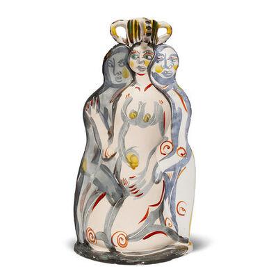 Akio Takamori, 'Untitled Nudes', 1987