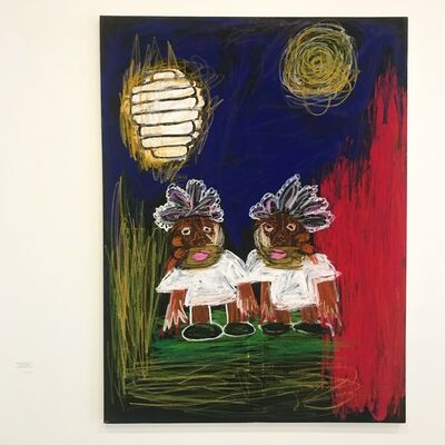 Eilen Itzel Mena, 'Ibeji and the Moon', 2017