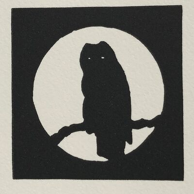 Joe Andoe, 'Owl', 1990