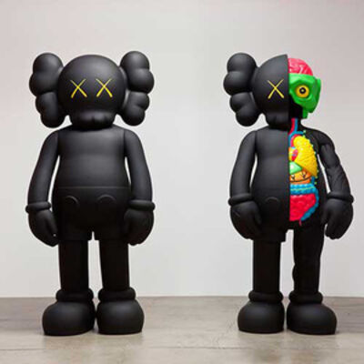 KAWS, 'Four Foot Companion Set (Black) ', 2007