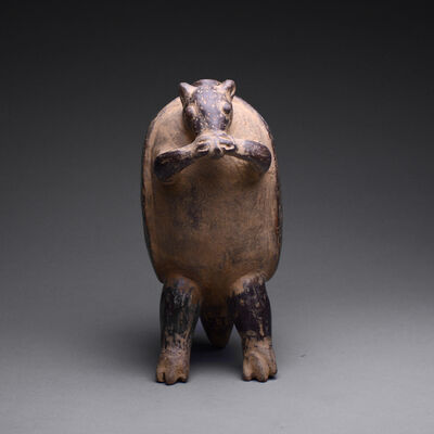 Pre-Columbian, Art of Costa Rica, 'Terracotta Vessel in the Form of an Armadillo', ca. 200 AD to 500 AD
