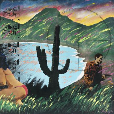 Felipe Ehrenberg, 'Bahía de tiburones/andante largo, de la serie Tropicalias tripartitas', 1989