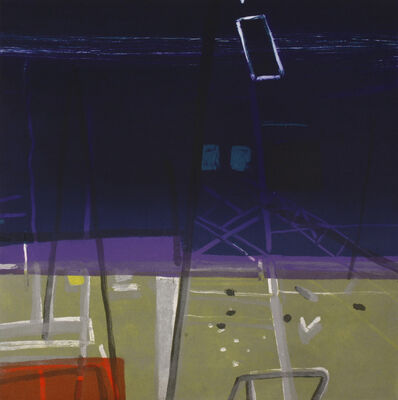 Barbara Rae, 'Docklands', 2006