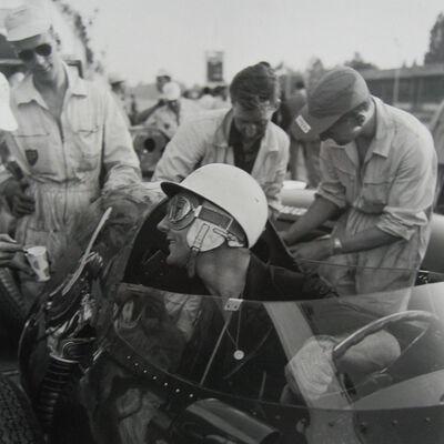 Jesse Alexander, 'Stirling Moss, Vanwall, Monza', 1958