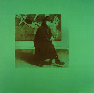 David Diao, 'Dancing 1', 2002