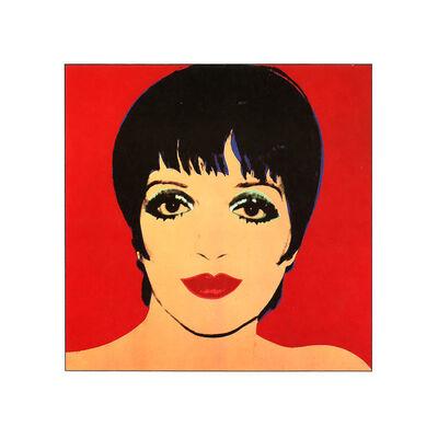 Andy Warhol, 'Liza Minelli, Red Background', 1979
