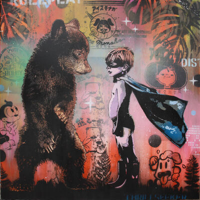 Pipsqueak was here!!!, 'Super bear', 2019
