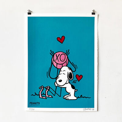 André Saraiva, 'Mr. A loves Snoopy - Blue', 2018