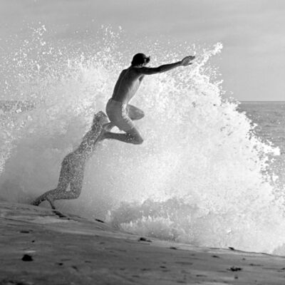 Roy Porello, 'Shore Break Jump, Windansea', 1962