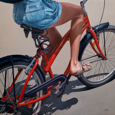Marc Figueras, 'Summer biking', 2019