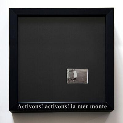 Martina della Valle, 'La mer monte, Framed Memories #Paris', 2009