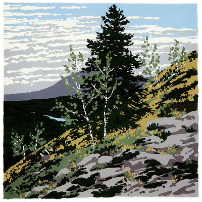 Neil G. Welliver, 'Si's Hill', 1973